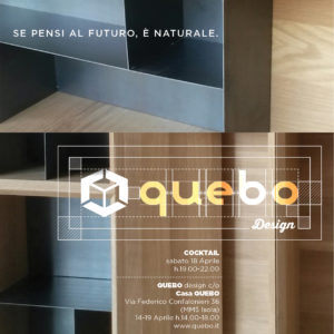 invito fuorisalone Quebo Design 2015