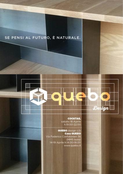 invito fuorisalone Quebo Design 2015